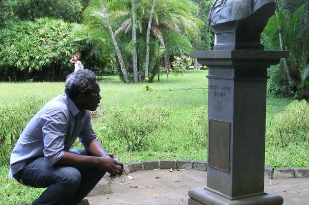 Jardin botanique de pamplemousse, île Maurice