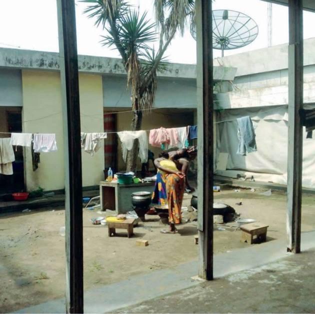 La première résidence du président Houphouët Boigny à Cocody (Corniche), vandalisée  et squattée par les dozos de Dramane Ouattara
