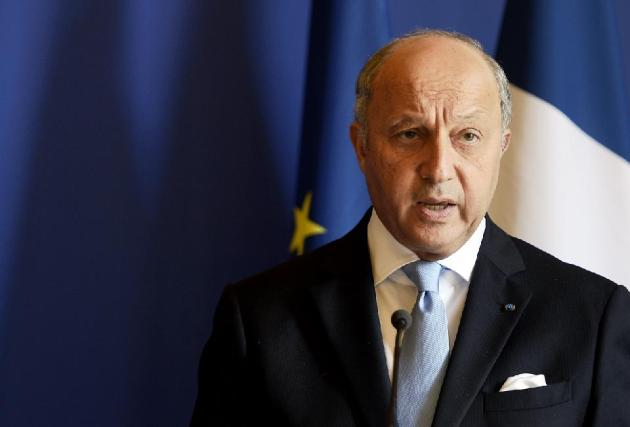 France's Foreign Affairs minister Laurent Fabius