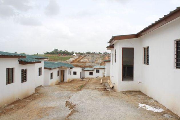 Logements sociaux de Dramane: Imaginez un peu ce que ce sera dans 5 ans