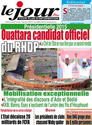 Par quelle magie la même image réapparaît-elle comme étant une photo prise le 25 avril à l'investiture de Dramane?