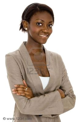 a-young-black-business-woman