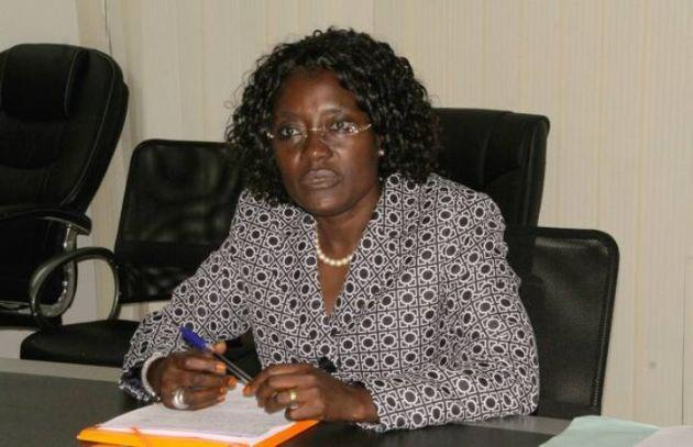 Pr Maratou Koné, ministre ivoirien de la Solidarité, de la cohésion sociale et de l'indemnisation des victimes
